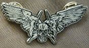 Gist - Wings - Metal Badge
