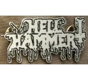 HellHammer - Metal Badge