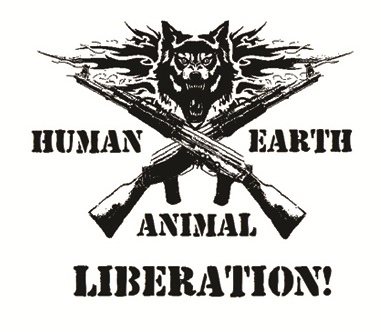Human Animal Earth Liberation - Button