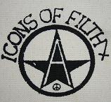 ICONS OF FILTH - Anarchy - Patch