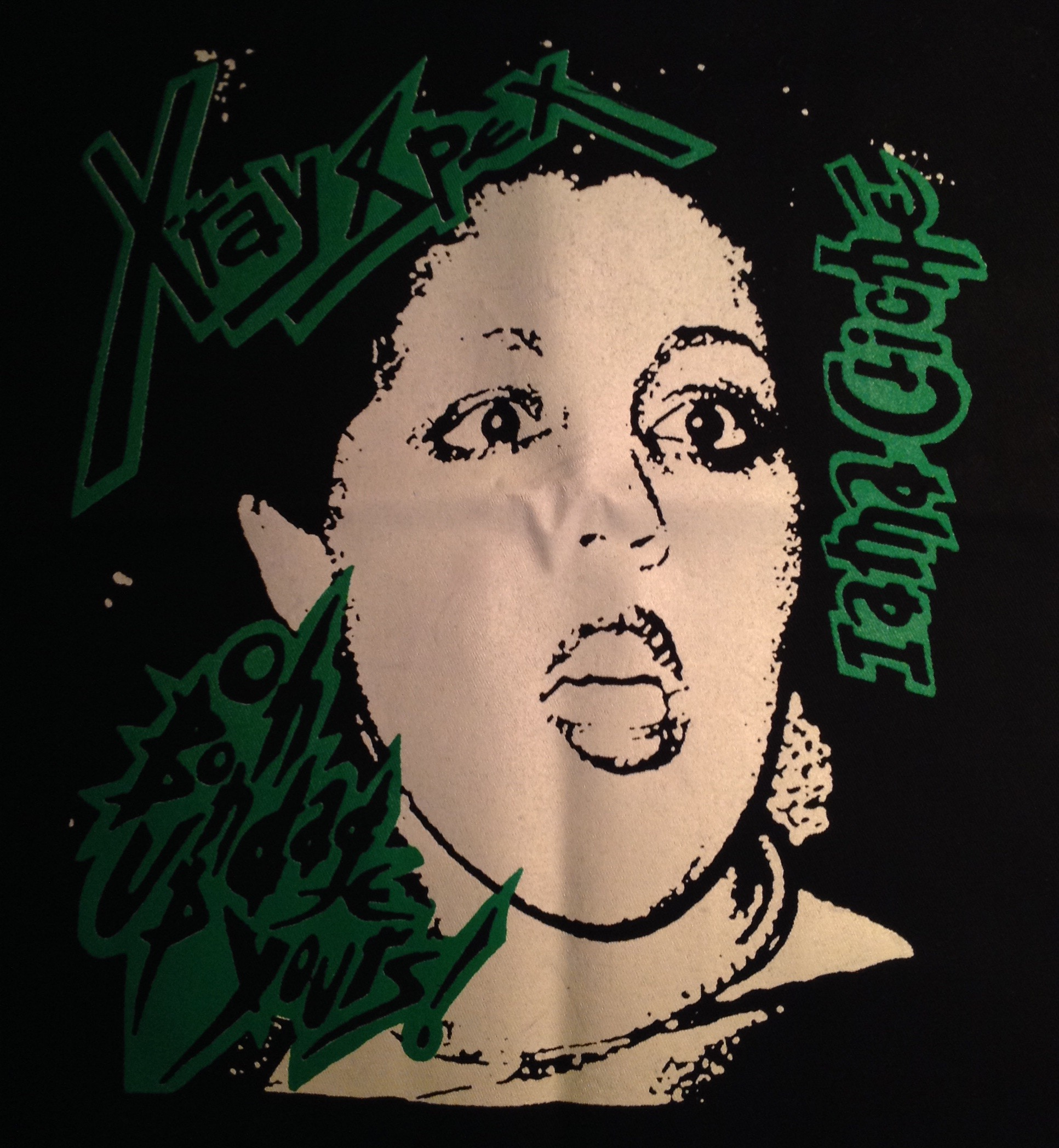 XRAY SPEX - Bondage - Back Patch