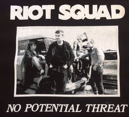 RIOT SQUAD - Back Patch