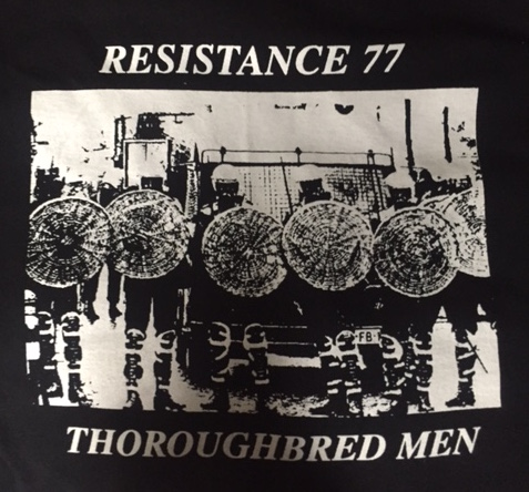Resistance 77 - Thoroughbred - Shirt