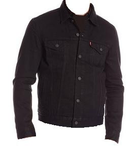 Black Denim Jacket Levis