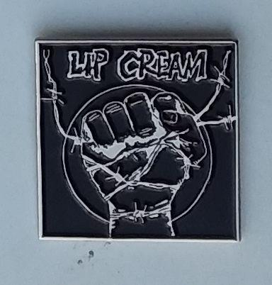Lip Cream - Metal Badge