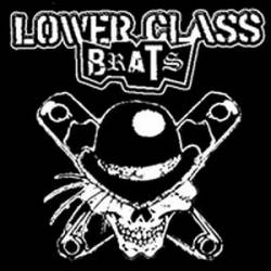 LOWER CLASS BRATS - Safety Pins - Back Patch
