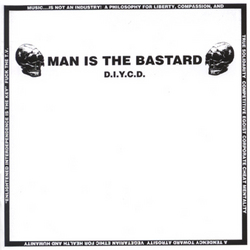 Man Is The Bastard - D.I.Y. (cd)