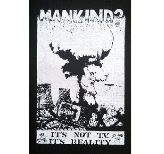 MANKIND? - Reality (white on black) - Patch
