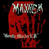 MAYHEM - Gentle Murder- Back Patch