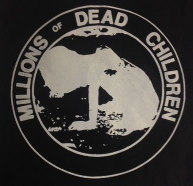 MDC - Dead Children (Black) - Back Patch