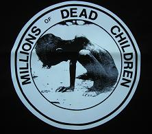 MDC - Dead Children (white on black) - Shirt