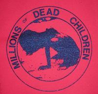 MDC - Dead Children (Red) - Back Patch