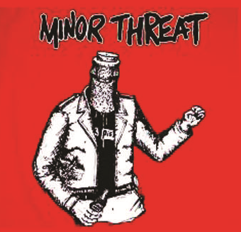 Minor Threat - Bottled - Button