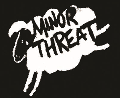 Minor Threat - Sheep With Name - Button