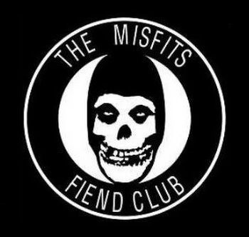 MISFITS - Fiend Club - Back Patch