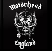 MOTORHEAD - England - Back Patch