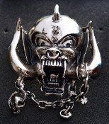 Motorhead - Skull - Metal Badge