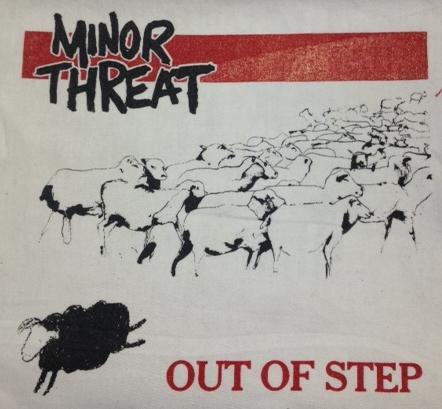 MINOR THREAT - Out of Step - Back Patch