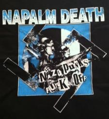 Napalm Death - Nazi Punks Fuck Off - Shirt