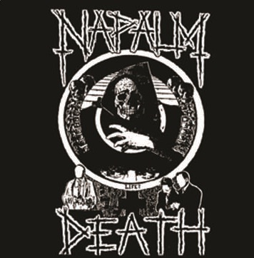 Napalm Death - Skeleton - Button