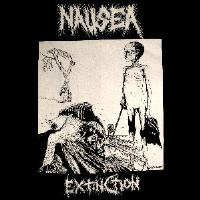 NAUSEA - Extinction - Back Patch