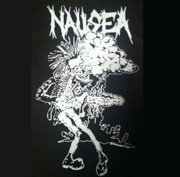 NAUSEA - Punk - Back Patch
