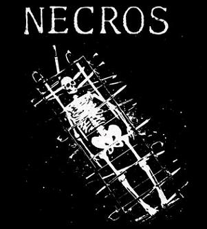 NECROS - Skeleton - Back Patch