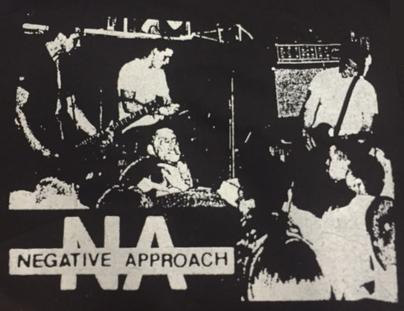 NEGATIVE APPROACH - Live - Back Patch