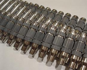.223 Nickel Bullet Belt With No Tips
