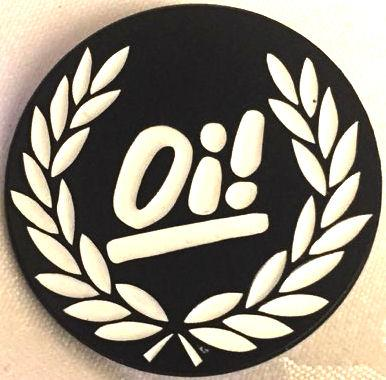 Oi - Metal Badge