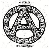 Oi Polloi - Fight Back - Button