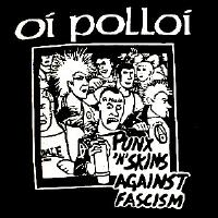 OI POLLOI - Against Fascism - Back Patch