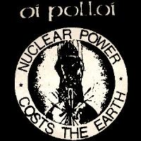 OI POLLOI - Nuclear Power - Back Patch