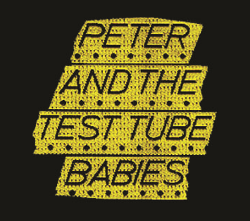 Peter And The Test Tube Babies - Button