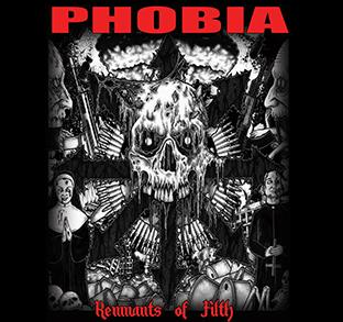 Phobia - Remnants of Filth - Shirt