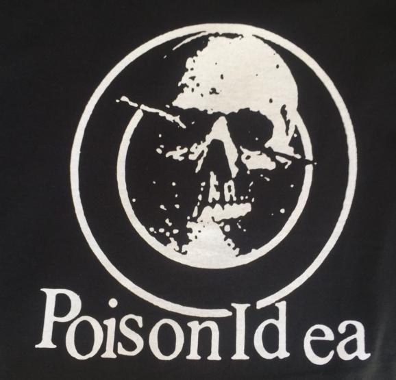 POISON IDEA - Skull - Back Patch