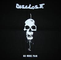 DISCLOSE - No More Pain - Back Patch