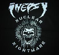 INEPSY - Nuclear Nightmare - Back Patch