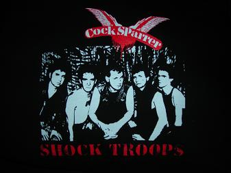Cocksparrer - Shock Troops - Shirt
