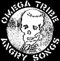 OMEGA TRIBE - Skull - Back Patch