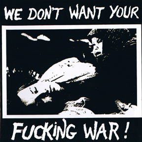 V/A - We Don't Want Your Fucking War (cd)