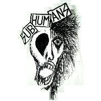Subhumans - Skull Face - Shirt
