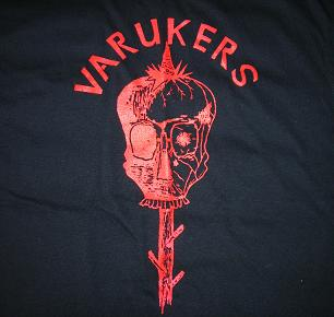 Varukers - Red Skull - Shirt