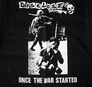 DISCLOSE - Once The War Started - Back Patch