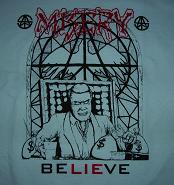 MISERY - Believe - Back Patch