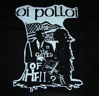 OI POLLOI - Gates of Hell - Back Patch