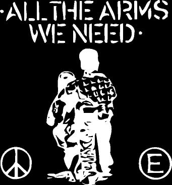 FLUX OF PINK INDIANS - All The Arms - Back Patch