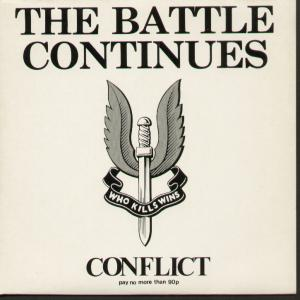 Conflict - The Battle Continues - Used 7""