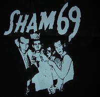 SHAM 69 - Band - Back Patch