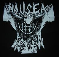 NAUSEA - Cross - Back Patch